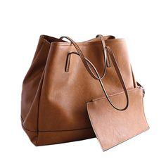 2016 New Fashion Composite Bags Women Shoulder Bag Vintage Women Handbag Set PU Leather Handbags and Purses Designer Ladies Bags