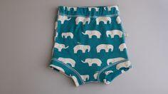 Unterhose - Jersey Elefant - Grösse S -