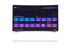 """#Beko B65C 9583 5S TV Ultra HD 65""""/164 cm Aktif 3D Smart TV Uygulamaları Yüksek Çözünürlük ( 3.840 x2.160 )"""