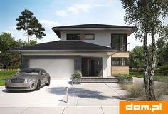 DOM.PL™ - Projekt domu AN PIRYT CE - DOM AO11-18 - gotowy koszt budowy