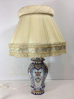 Potiche Pied DE Lampe EN Faience DE Rouen   eBay