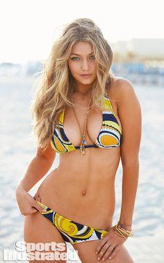 Bikini Blond from Gigi Hadid's Sexiest Modeling Shots