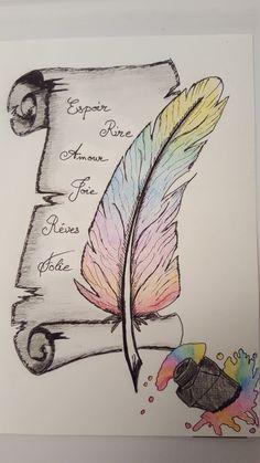 écris ta vie en couleurs by nathoo