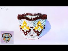 How to make 3d origami Bowl 7 - YouTube