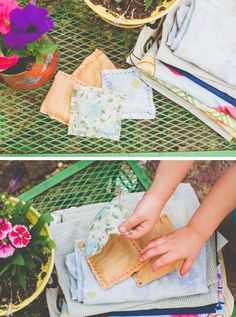DIY: lavender sachet