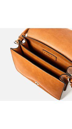 Leather bag I Zara