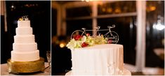 Cycle Bicycle Bike Wedding Cake | Five Tiers | Round White | Cycling | Christen Jones Photography | Mad Lily Cakery Bike Wedding, Wedding Ceremony, Unique Weddings, Cake Toppers, Wedding Cakes, Cycling, Mad, Bicycle, Lily