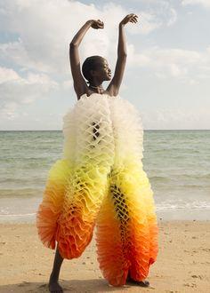 Photographer + Stylist: Madeleine Burke - Make up / Hair: Carla Dyson / Phoenix Ly - Model: Agot @ Viviens - Clothing: Zhuxan He - Jewellery: By Nye