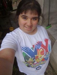 Minha camiseta do Pokémon XY