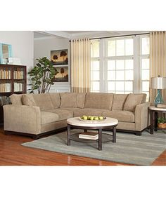 Attractive Kenton Fabric Sectional Sofa, 2 Piece X X   Macyu0027s
