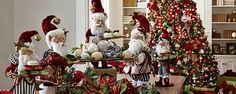 Transform your home and yard into a welcoming winter wonderland with Christmas decorations from Frontgate. Browse trees, indoor decor, outdoor accents and more. Merry Christmas, Christmas Greenery, Christmas Time, Christmas Wreaths, Christmas Ideas, Christmas Vignette, Whimsical Christmas, Christmas Kitchen, Christmas Door