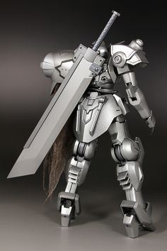 GUNDAM GUY: HG 1/144 Silver Knight Gastima - Customized Build