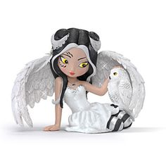 Jasmine Becket-Griffith Fairy And Owl Figurine