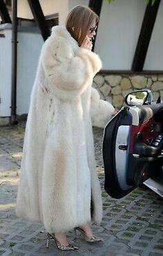 Picture 10 of 11 Chinchilla Coat, Rabbit Fur Jacket, Long Fur Coat, Mink Jacket, Fox Coat, Mens Fur, Fur Accessories, Fabulous Furs, White Fur