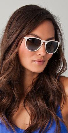 Ray-Ban White Erika Sunglasses