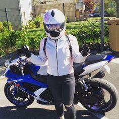 いいね!16件、コメント1件 ― Houta 🐠さん(@elmyra67)のInstagramアカウント: 「Gsxr lover , Safe Ride ✌🏽#suzuki #gsxr750 #gsxr #strasbourg #moto #saferide #v #love #passion…」