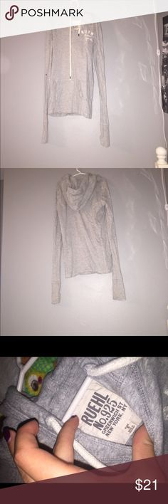 Women's Ruehl hooded long sleeve shirt This shirt is so soft and warm! And was never worn so it has no wear and tear Ruehl No. 925 Tops