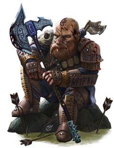 """elfslavewatdo: """"Dwarf Ranger"""" [Arist: Jason Rainville]"""