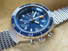 """AMAZING Seamaster 120M """"Big Blue"""""""