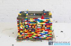 STEP 3: Finish Building the Mold + Mix + Pour the Concrete