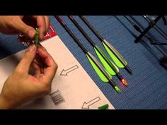 ▶ How to Make A Lighted Arrow Nock - YouTube