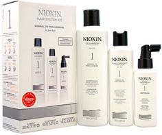 Unisex Nioxin System 1 Thinning Hair Kit For Fine Natural Normal - Thin Looking Hair