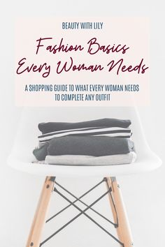 Tired of going thru your closet and not knowing what to wear? Here are fashion basics every woman needs that will help complete multiple outfits! Basic Style, Simple Style, Cool Style, Multiple Outfits, Fashion Basics, Fashion Tips, Staple Pieces, Faux Leather Jackets, Simple Makeup Looks