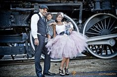 Womens Small Shabby Chic Pink Cocktail Length Tutu Perfect for Weddings and Portraits $112.99