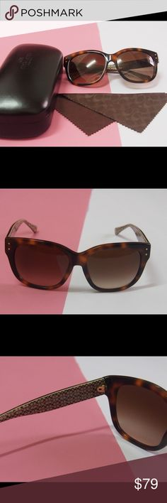 Coach brown sunglasses Coach brown sunglasses Brand new and no scratches  Come with the original cases Coach Accessories Sunglasses