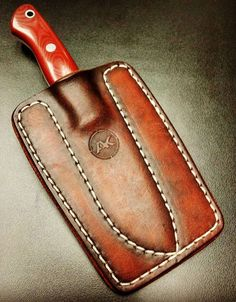 Leather Knife Sheath Pattern, Knife Holster, Axe Sheath, Custom Leather Holsters, Blacksmithing Knives, Leather Working Patterns, Case Knives, Kydex, Custom Knives