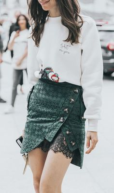 We've rounded up 10 fresh ways to wear a miniskirt now. See inspiring outfits and shop our favorite styles.