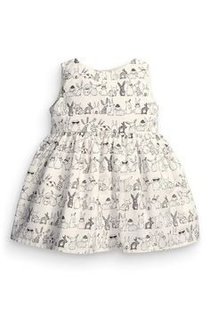 2016 bunny baby girls dress baby dress vestido infantil pattern printed dresses #>=#>=#>=#>=#> Click on the pin to check out discount price, color, size, shipping, etc. Save and like it!