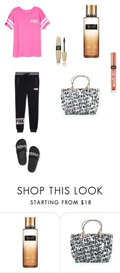 """pink"" by ottoca on Polyvore featuring Victoria's Secret"