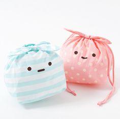 Sumikko Gurashi Furoshiki Drawstring Bag US $ 9.49