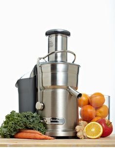 Winner Best Juicer - Breville Juice Fountain Elite: a splurge, but worth it, if you're a hardcore juicer