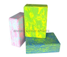 Wholesale High Quality EVA Foam Yoga Block of Size 3*6*9 Kind : Yoga Block. Material : EVA Foam. Color : Custom. Age : Adult. Colors : Any Color Customize. Model No. : Byyb100. Applications : Yoga, Pilate, Gymnastics,Fitness. Packing : Each Shrinks with Film. OEM : Yes. Smaple Time : 2-3 Days. Weight : 200g. MOQ : 50 PCS. Logo : Customized. Wholesale High Quality Eva Foam Yoga Block Of Size 3*6*9 Product Details: Prodcut Features: Sturdy, durable and lightweight Dense foam for superior