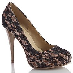 Cannes Shoes by Coloriffics in Nude at SimplyDresses.com