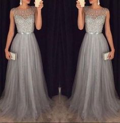 Prom Dresses For Teens, New Arrival Beading Prom Dresses,Charming Gray Evening Dresses,A-line Modest Prom Gowns,Long Prom Gowns Dresses Modest Modest Prom Gowns, Prom Dresses 2016, Prom Dresses For Teens, Long Prom Gowns, A Line Prom Dresses, Cheap Prom Dresses, Formal Gowns, Dress Formal, Party Dresses