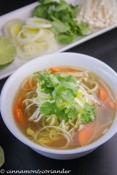 Try my recipe for Vegan Vietnamese Pho Noodle Soup. You just need a small number of ingredients and some patience to make this Vietnamese Classic at home.