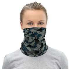 This neck gaiter is a versatile accessory that can be used as a face covering, headband, bandana, wristband, and neck warmer. Upgrade your accessory game and find a matching face shield for each of your outfits. Neck Warmer, Fabric Weights, Stretch Fabric, Camo, Etsy Shop, Group, Board, Shopping, Hoodies