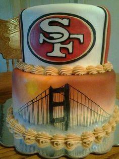Best 49er lovers birthday cake ever!!!