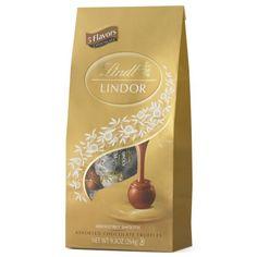 Lindt LINDOR Assorted Chocolate Truffles, 9.3  Ounce - http://bestchocolateshop.com/lindt-lindor-assorted-chocolate-truffles-9-3-ounce/