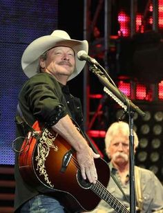 Country musician Alan Jackson performed at the Wells Fargo Arena in Des Moines on Thursday. 11.8.12(Bryon Houlgrave)