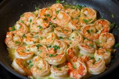 Easy Shrimp Scampi (with butter)