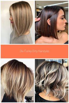 Photo Gallery Of Dirty Blonde Hairstyles Viewing 10 Of 20 Photos regarding ucwords] #medium bob 24+ Funky Dirty Hairstyles - Ceplukan
