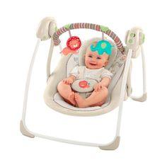 Eine Babyschaukel