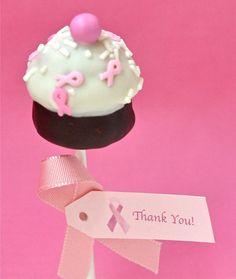 My Little Cupcake POP Blog: Pink Pops ~ to create awareness!