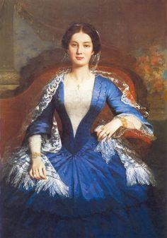Victorian Era Fashion, 1850s Fashion, Victorian Women, Female Portrait, Female Art, Auguste, Portraits, Fashion History, Pretty Pictures