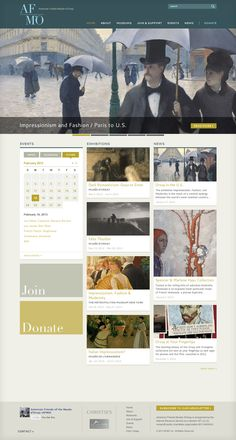 Excited about the new site we created for American Friends Musée d'Orsay  http://aforsay.org