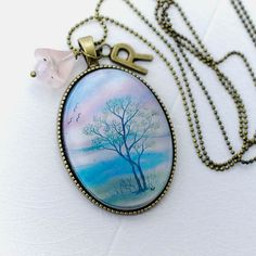 Pendant in vintage style